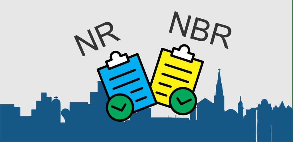 A diferença NR e NBR na Construção Civil